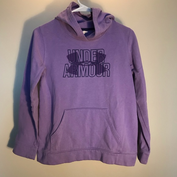 Under Armour Other - Youth large Under Armour purple sweatshirt